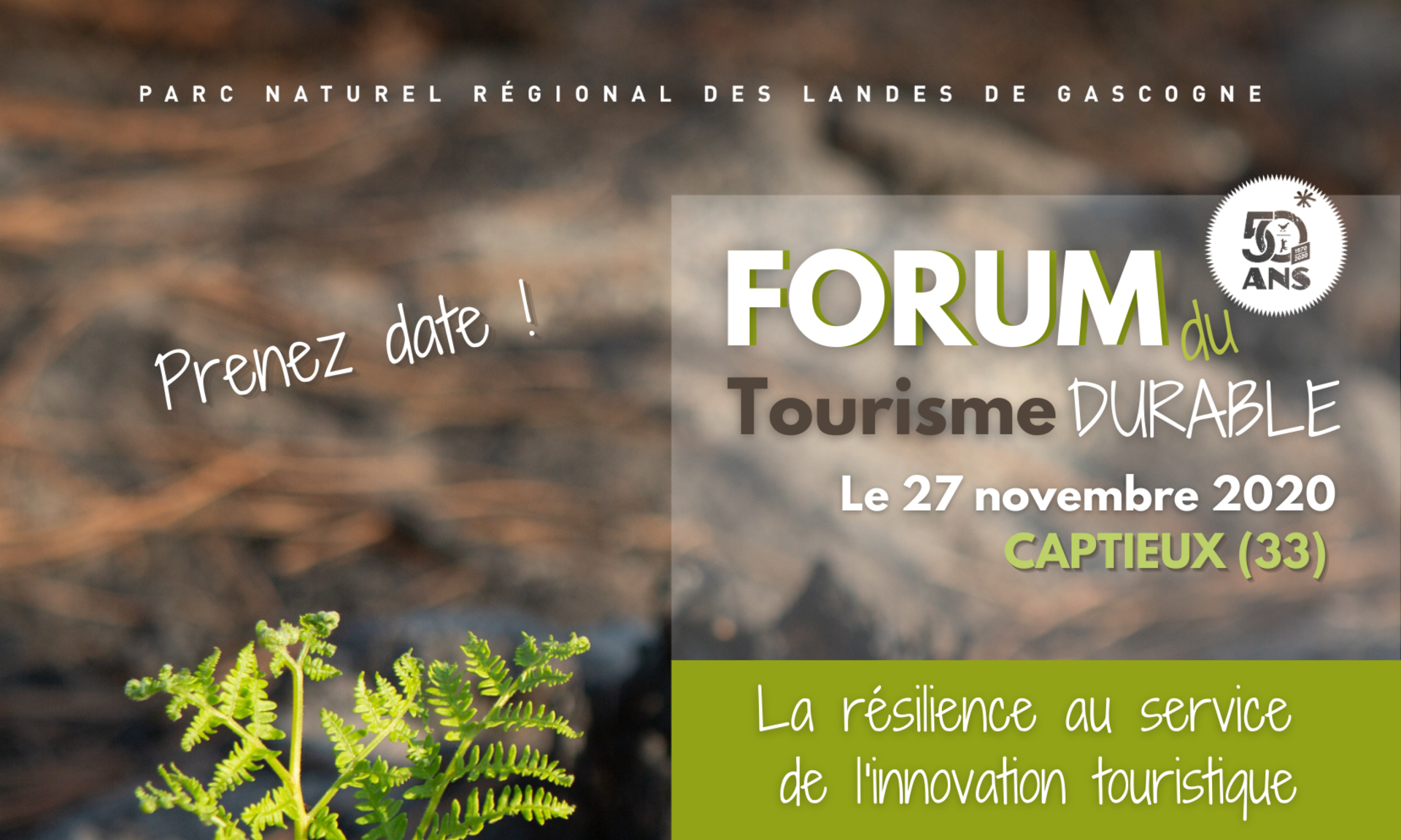 Forum du Tourisme Durable 2020 – Captieux